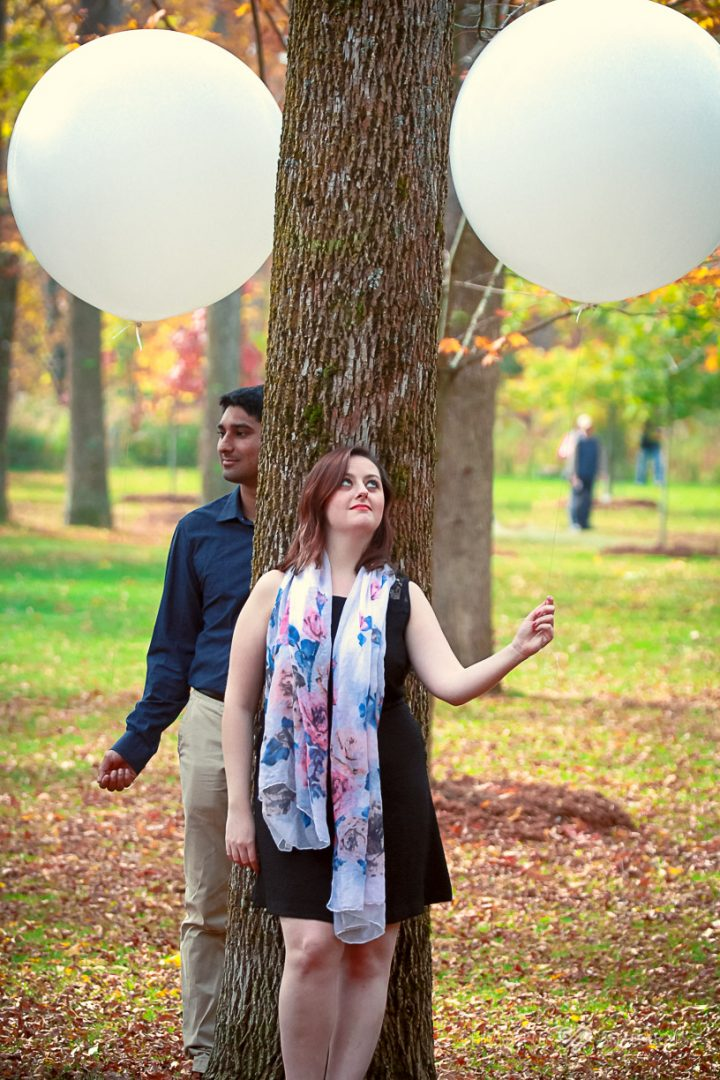 photo shoot balloons